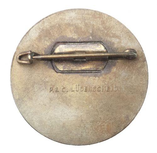 Reichsparteitag 1934 abzeichen (maker P. & C. Lüdenscheid)