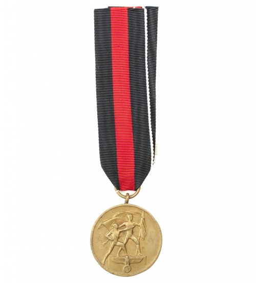 Sudetenland Annexation commemorative medal