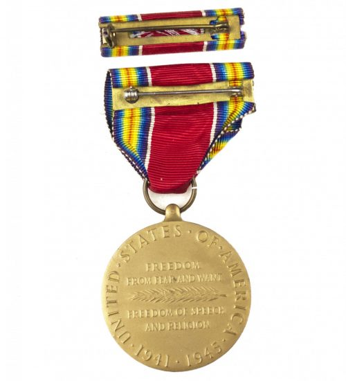 USA World War II Victory medal + ribbon