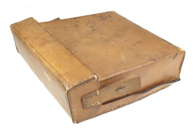 WW2 Luftschutz Gastasche / Luftschutz Sanitätstasche with rare wood compartiment