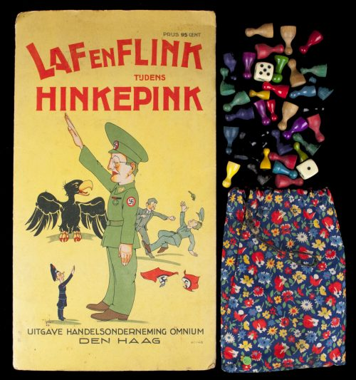 "WWII Dutch Liberation board game ""Laf en flink tijdens Hinkepink"""