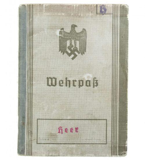 Wehrpass (Heer) Wehrbezirkskommando München