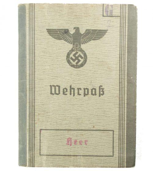 Wehrpass (heer) Wehrbezirkskommando Fulda