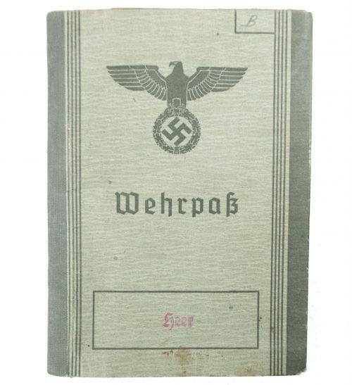Wehrpass (heer) Wehrbezirkskommando Nienburg/Weser