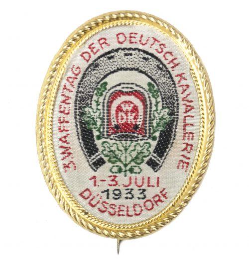 3. Waffentag der Deutsch. Kavallerie 1.-3. Juli 1933 Düsseldorf