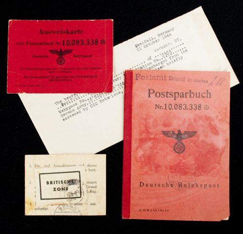 Deutsche Reichspost - Postsparbuch