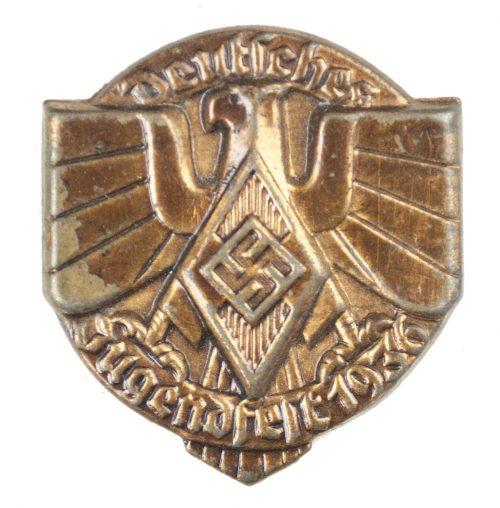 Deutsches Jugendfest 1936 abzeichen