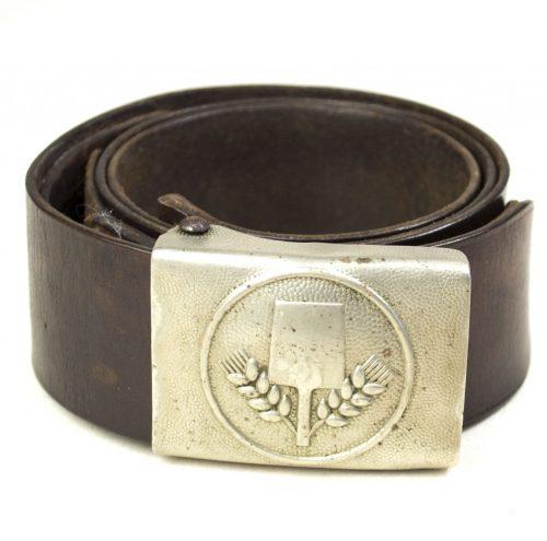 Freiwillige Arbeitsdienst (FAD) Buckle (tabbed) + belt