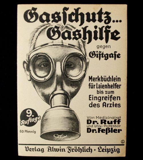 Gasschutz...Gashilfe gegen Giftgase