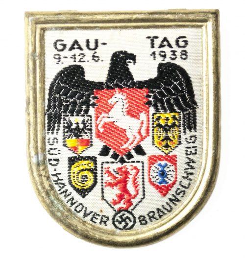 Gautag 1938 Süd Hannover Braunschweig abzeichenbadge