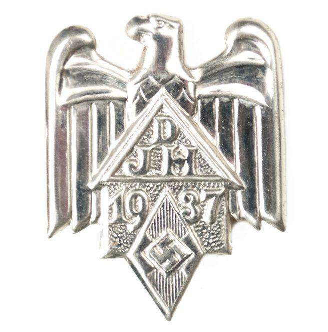 Hitlerjugend (HJ) Deutsche Jugendherbergen (DJH) 1937 abzeichen