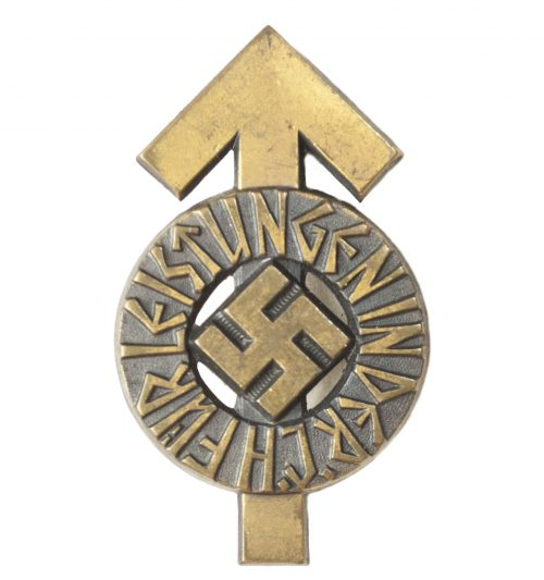 Hitlerjugend (HJ) Leistungsabzeichen in Bronze M1101 (maker Gustav Brehmer)