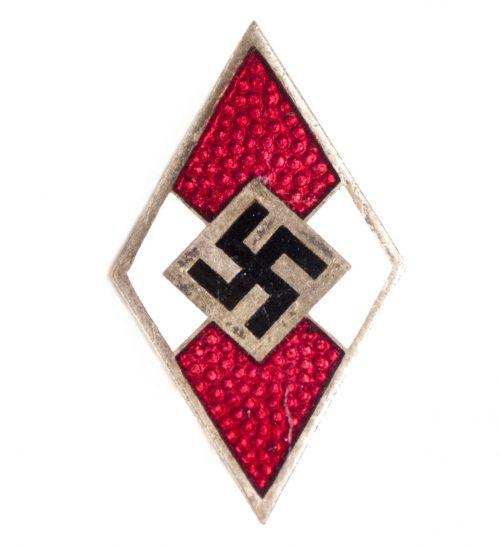 Hitlerjugend (HJ) Mitgliedsabzeichen Memberbadge (rzm marked)
