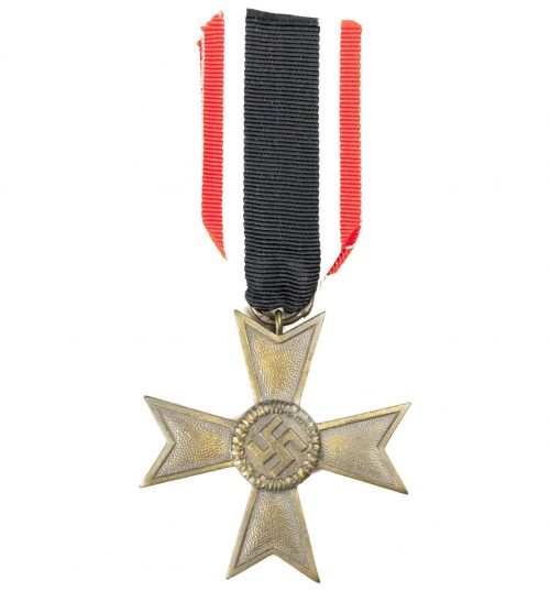 Kriegsverdienstkreuz (KVK) Ohne Schwerter War Merit Cross without swords 60 (Katz & Deyle)