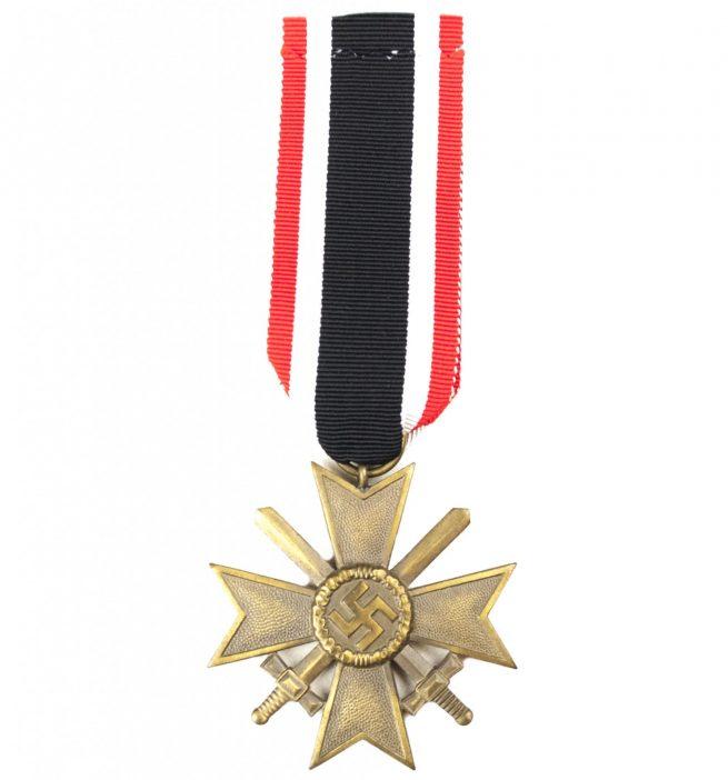 Kriegsverdienstkreuz (KVK) War Merit Cross with Swords 6 (Fritz Zimmermann)