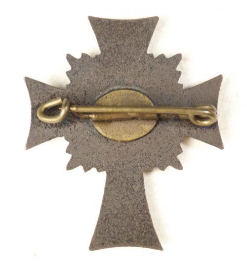 Mutterkreuz Bonze Halbminiature Motherscross Bronze Halfsize