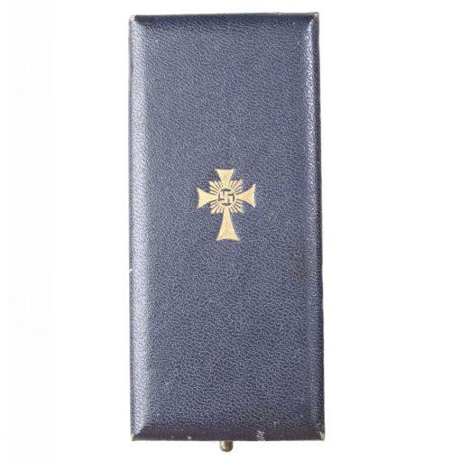 Mutterkreuz gold + etui Motherscross gold + case (maker Wilhelm Deumer)