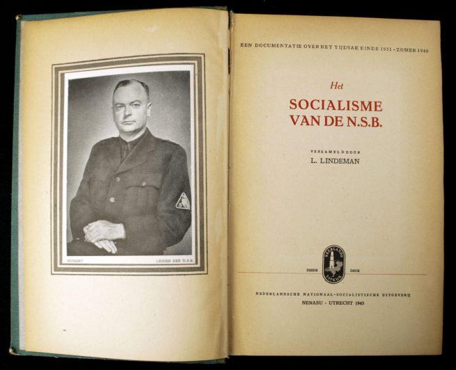 (NSB) Het Socialisme van de N.S.B.