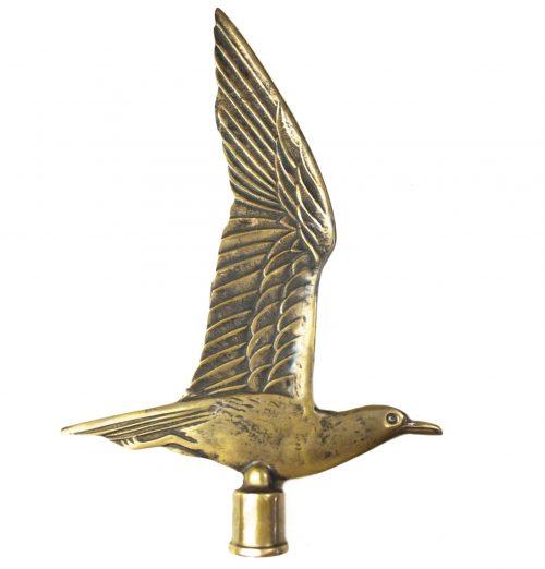 (NSB) Jeugdstorm Flag Pole Bronze Mew