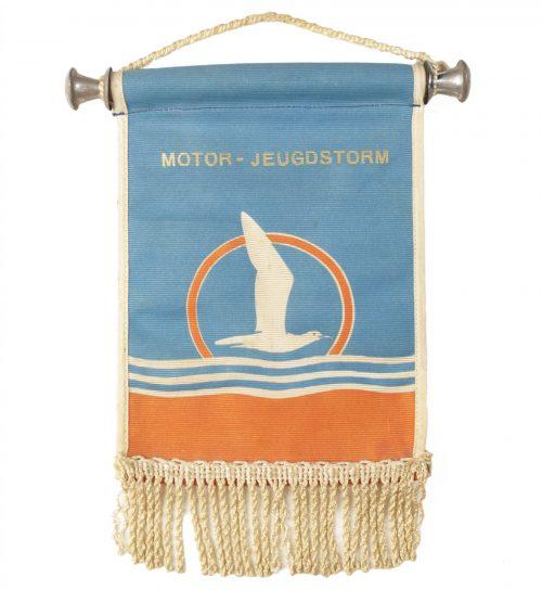 NSB Jeugdstorm tableflag MOTOR-JEUGDSTORM (extremely rare!)