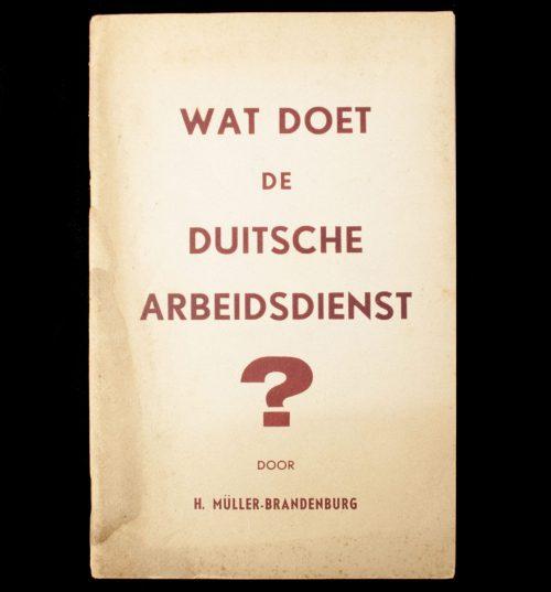 (NSB) Wat doet de Duitsche Arbeidsdienst