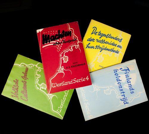 (NSB) Westland serie 4 brochures (Serie 3, 4, 5, 9)