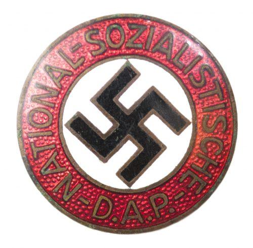 NSDAP Parteiabzeichen Transitional RZM No.25 (Maker Rudolf Reiling)