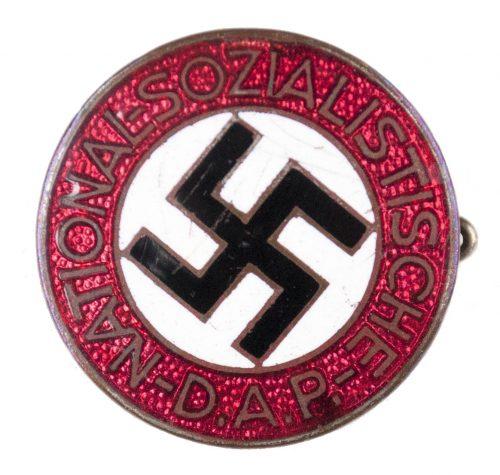 NSDAP Parteiabzeichen transitional Ges Gesch RZM M178 (Paulmann & Crone)