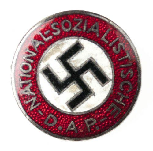 NSDAP Parteiabzeichen (transitional) RZM 62 (maker Gustav Hähl) RARE!