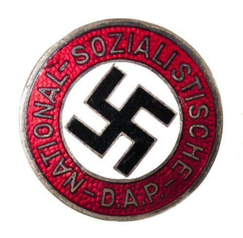 NSDAP Parteiabzeichen (transitional) RZM 72 (maker Fritz Zimmermann)