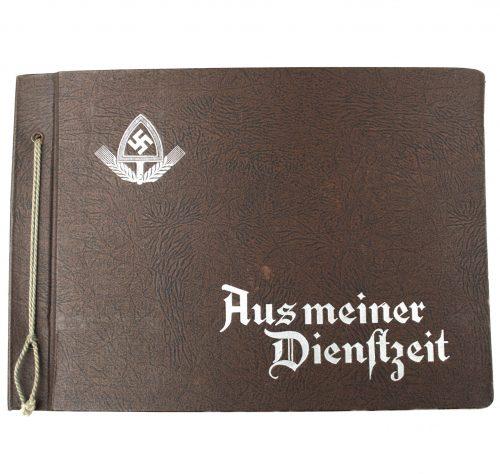 Photoalbum Reichsarbeitsdienst (RAD) Aus Meiner Dienstzeit