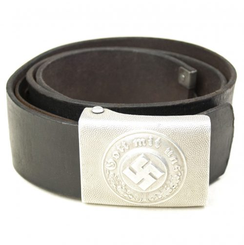 Police NCO Belt Buckle by L.u.F. + belt