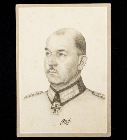 Postcard Generalfeldmarschall List