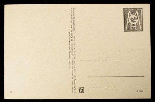 Postcard Lily Marleen – Vor der Kaserne, von dem grossen Tor
