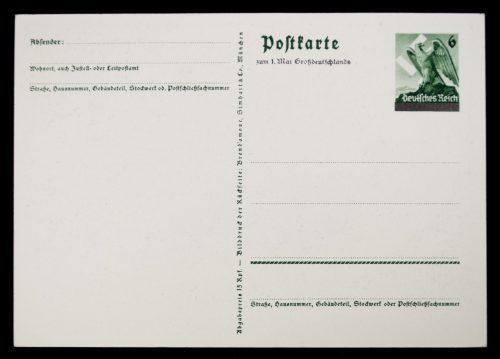 Postcard Sudetenland Annexaton on 1 oktober 1938