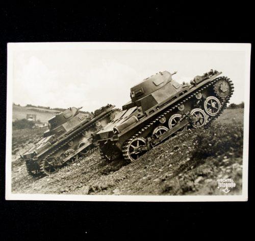 Postcard Unsere Wehrmacht (Panzer)