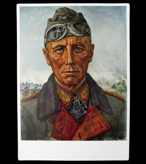 Postcard W. Willrich General Rommel