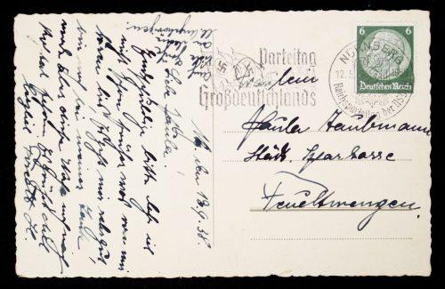 Postcart Reichsparteitag Nürnberg, Hoheitsadler auf der Luitpoldarena