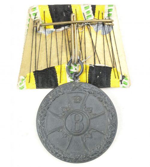Sachsen-Meiningen medaille für Verdienste im Kriege 1918 Einzelspange