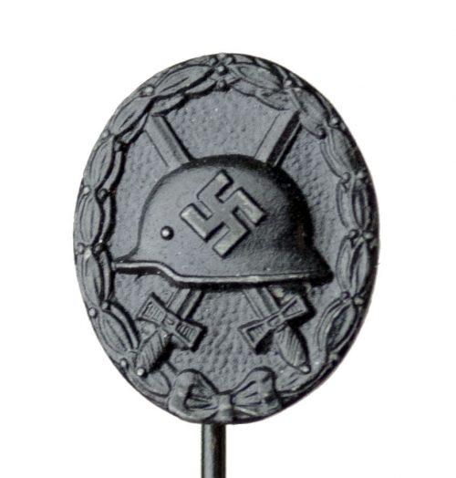 Schwarzes Verwundetenabzeichen (VWA) Woundbadge in Black stickpin L11 (Deumer)