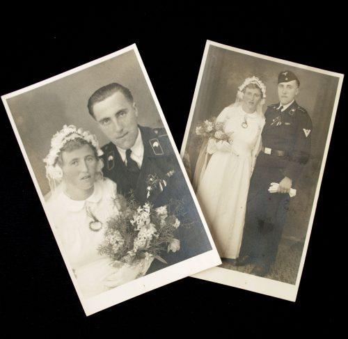 Two Panzer wedding photo's