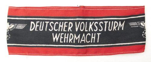 Wehrmacht Deutscher Volkssturm Armband