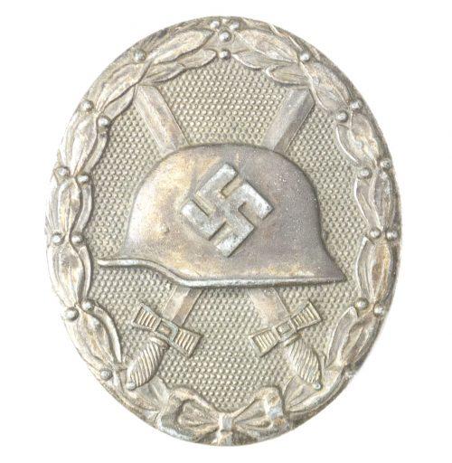 Woundbadge Silver Verwundetenabzeichen Silber maker 65 (Klein und Quenzer)