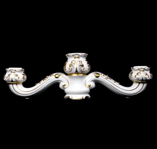 Allach porcelain baroque candelabra model 23
