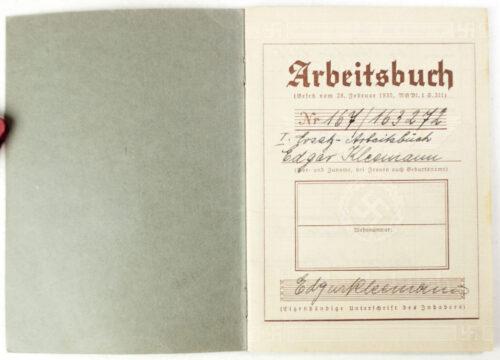 Arbeitsbuch Arbeitsamt Essen (Ersatz Arbeitsbuch).