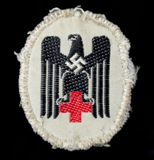 Deutsches Rotes Kreuz (DRK) - schiffchen abzeichen (sidecap eagle)