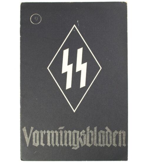 Dutch-SS – SS Vormingsbladen Jrg 3. No.9 1