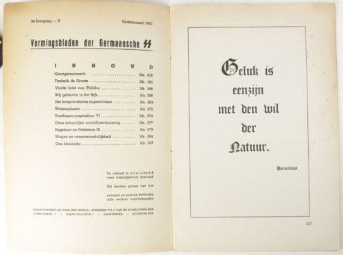 Dutch-SS – SS Vormingsbladen Jrg 3. No.9