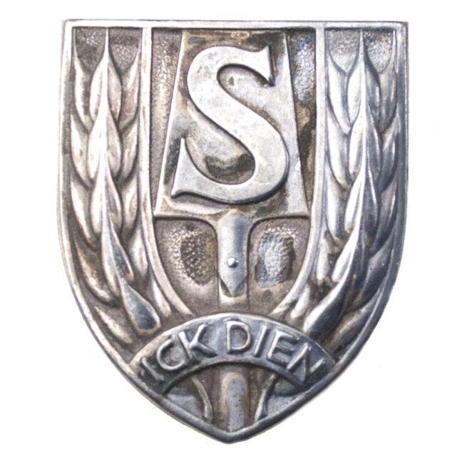 Dutch WWII Nederlandsche Arbeidsdienst (NAD) large sportsbadge