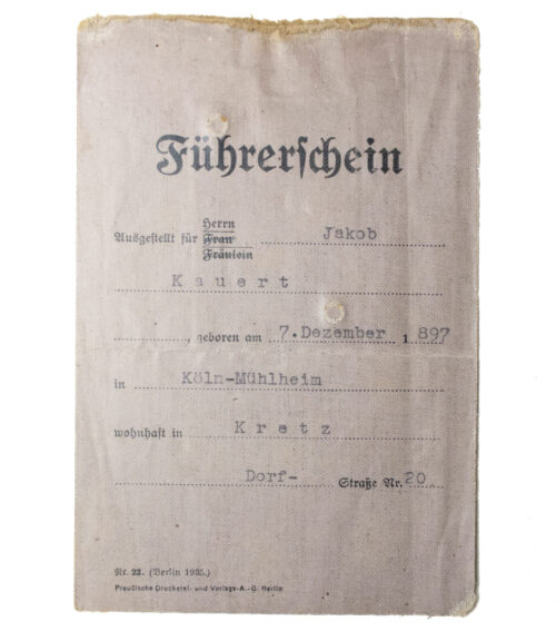 Führerschein-1938-Drivers-Licence-with-photo
